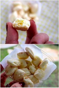SEQUILHOS SEM GLUTEN E SEM LACTOSE, como coco e maizena - biscoito crocantes