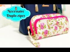 YouTube Diy Wallet, Wallet Tutorial, Pencil Case Pattern, Pencil Case Pouch, Backpack Pattern, Bag Patterns To Sew, Quilted Bag, Zipper Bags, Baby Sewing