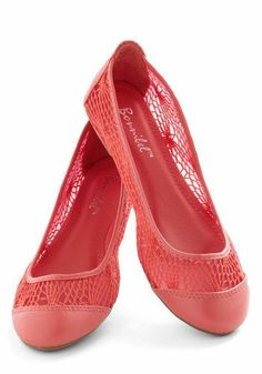 Ballet flats that are #pink!