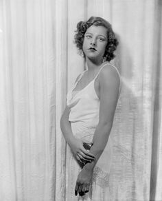 Actress and torch singer Libby Holman. I was obsessed with her when I was young. She had an interesting life.