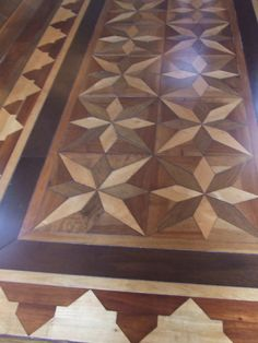 Brazilian Parquet Flooring in the Manaus Opera House