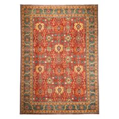 "Adina Collection Oriental Rug, 9'10"" x 13'9"" 