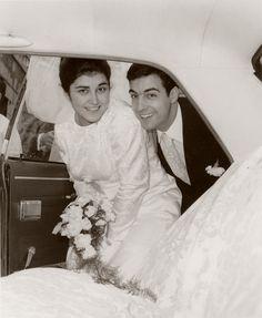 Recordação do casamento dos meus pais, que se realizado na igreja de Benfica em 1971 de Abril dia 4. #recordacao