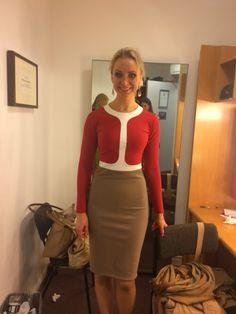 English National Opera's latest Carmen in elegant Anais dress, after the amazing performances!