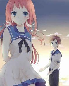 Manaka and Hikari        ~Nagi no Asukara
