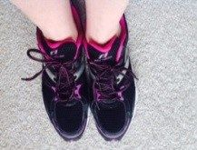 Jacque Gerrard's running shoes :)