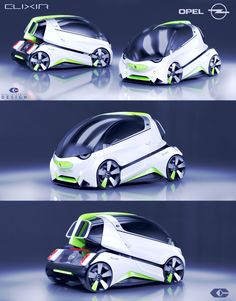"OPEL CONCEPT CAR ""ELIXIR"" by Paul Czyżewski on Behance"
