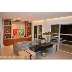Home theater. Apartamento. Projeto ST Arquitetura e Design