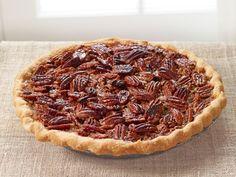 Maple Pecan Pie recipe from Ina Garten via Food Network