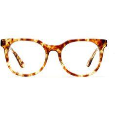 Madewell MADEWELL Han Kjobenhavn Paul Senior Eyeglasses ($134) ❤ liked on Polyvore