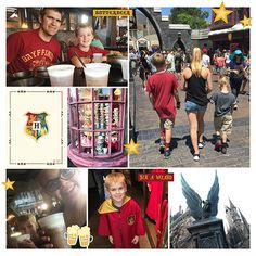 Digital Hogwarts Harry Potter project life page using Project Mouse (Wizarding) by Britt-ish Designs and Sahlin Studio Disney Scrapbook, My Scrapbook, Scrapbook Designs, Scrapbook Layouts, Digital Scrapbooking, Scrapbooking Ideas, Life Page, Sea World, Universal Studios