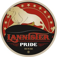 Lannister Pride - Game of Thrones - Tom Gateley