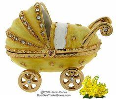 Trinket Box: Baby Carriage