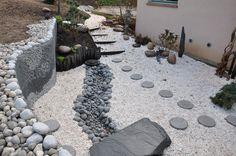 Jardin japonais à Saint-Leu (Val d'Oise - France). Photo et création Taffin