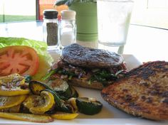 Marinated Portobello Burgers