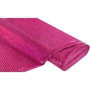 buttinette Angebot Paillettenstoff, Hologramm, pink, 6 mm Ø, 150 cm breitIhr QuickBerater