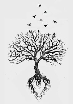 tattoo tree small & tattoo tree & tattoo tree of life & tattoo tree of life woman & tattoo tree small & tattoo tree men & tattoo tree roots & tattoo tree arm & tattoo tree of life men Tatoo Tree, Tatoo Bird, Tree Roots Tattoo, Tree With Birds Tattoo, Deer Tattoo, Raven Tattoo, Tree Heart Tattoo, Simple Tree Tattoo, Tree Branch Tattoo