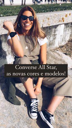 Sabe tudo abaixo Converse All Star, Fitness, Black And White, Colors, Templates
