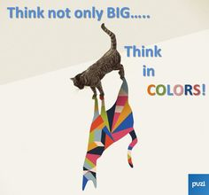 Think in colors!