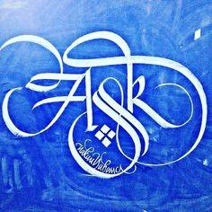 Kaligrafi Calligraphy