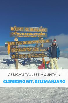 Kilimanjaro- Climbing the World's Tallest Freestanding Mountain - ALICE'S ADVENTURES - Adventure Tourism