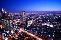 ソニーマンスリーフォトコンテスト入選『わが街 TOKYO』 都庁展望室より撮影。