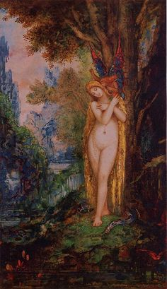 Gustave Moreau - Eve. 1885