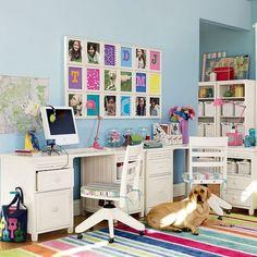 Mobilier pentru studiu, in camera copiilor (1)