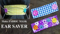 how to make a no sew face mask Fabric Face Mask Ear Saver Sewing Patterns Free, Free Sewing, Sewing Tutorials, Sewing Projects, Sewing Hacks, Easy Face Masks, Homemade Face Masks, Diy Face Mask, Mascarilla Diy