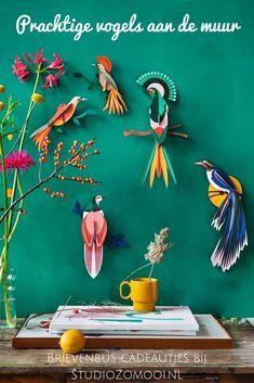 Diy Paper, Paper Crafting, Paper Art, Paper Clay, Papier Diy, Cardboard Toys, Cardboard Animals, Paper Birds, Bird Paper Craft