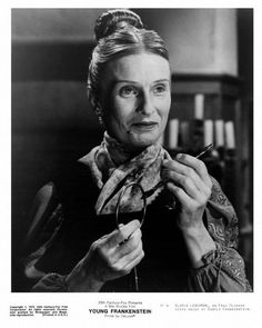 Cloris Leachman Signed Photo Inscribed Frau Blucher OC Dugout COA (C) Young Frankenstein Old Hollywood, Classic Hollywood, Mel Brooks Movies, Cloris Leachman, Young Frankenstein, Frankenstein Makeup, Horror Movies, Comedians, Movie Tv