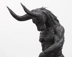 ji yong-ho: mutant mythos tire sculptures