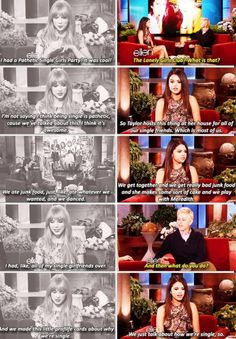 Selena's and Taylor's friendship >>