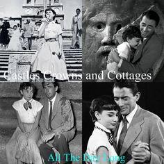 Movie love. Gregory Peck & Audrey Hepburn.