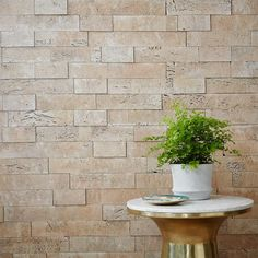 muratto for west elm cork wall covering in white wash (great for soundproofing or as an accent wall)