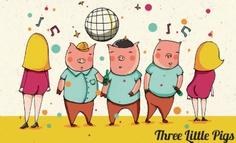 Μέρος 3ο– Το κακό clubbing και τα τρία μικρά γουρουνάκια.