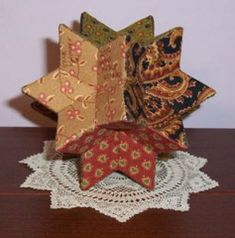 cute idea using English paper piecing
