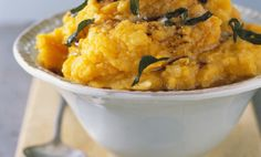 Browned Butter Smashed Potatoes with ButternutSquash Recipe - Relish
