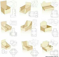 diferentes tipos de packaging