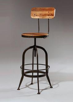 caterpillar garage stool plasticolor padded chrome metal bar chair