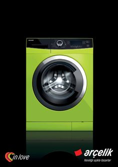 Neon Green Washer ☻                                                                                                                                                                  ⇜•ṄεΦЙ❉€яᗛƶΣ•⇝