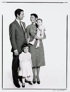 Hans Gedda- 1979- King Carl XVI Gustaf, Crown Princess Victoria, Prince Carl Philip, Queen Silvia