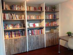 boekenwand zelf maken - Google zoeken