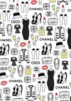 New Fashion Wallpaper Chanel Art Prints Ideas Chic Wallpaper, Fashion Wallpaper, Wallpaper Backgrounds, Heart Wallpaper, Wallpaper Ideas, Drawing Wallpaper, Iphone Backgrounds, Arte Fashion, Fashion Design