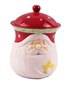 Christmas cookie jars make such cute gifts, especially when they are full of your homemade cookies