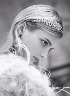 Chanel jewel headband