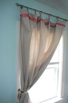 pom pom curtain
