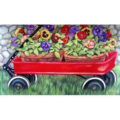 Little Wagon Doormat