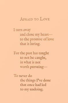 [ 'Afraid to Love]- Love&Misadventures❣️🌹 #poetrybooks#poem#langleav
