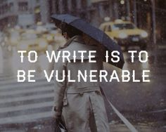 To write...